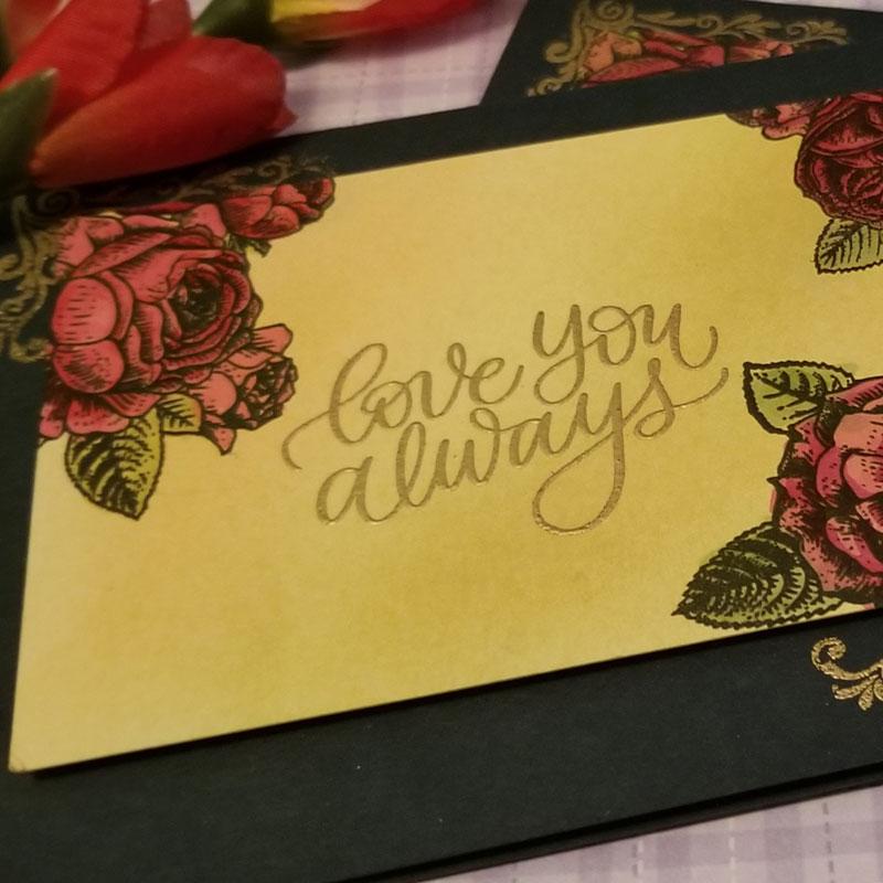 Simon Says Love Always Stamps Set