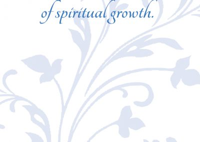 Pain is the touchstone of spiritual growth_