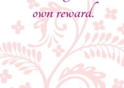 Sobriety is its own reward_