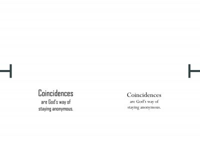 coincidences