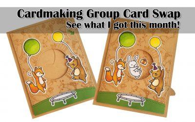 Cardmaking Group Card Swap – October 2020